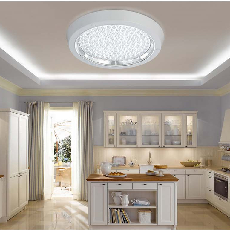 Kitchen Lighting Ceiling Fixtures: Modern Kitchen Led Ceiling Light Surface Mounted LED