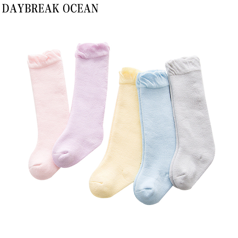 Newborns Baby Unisex Fashion solid Color 0-12M Soft Cotton Thicken Warm Terry Socks For Toddler Autumn Winter Kids Infant Socks