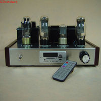 JBH 6N9P 6P3P Tube Amplifier USB MP3 Decoder HIFI single ended Lamp Amp finished product JBH6P3PSUF