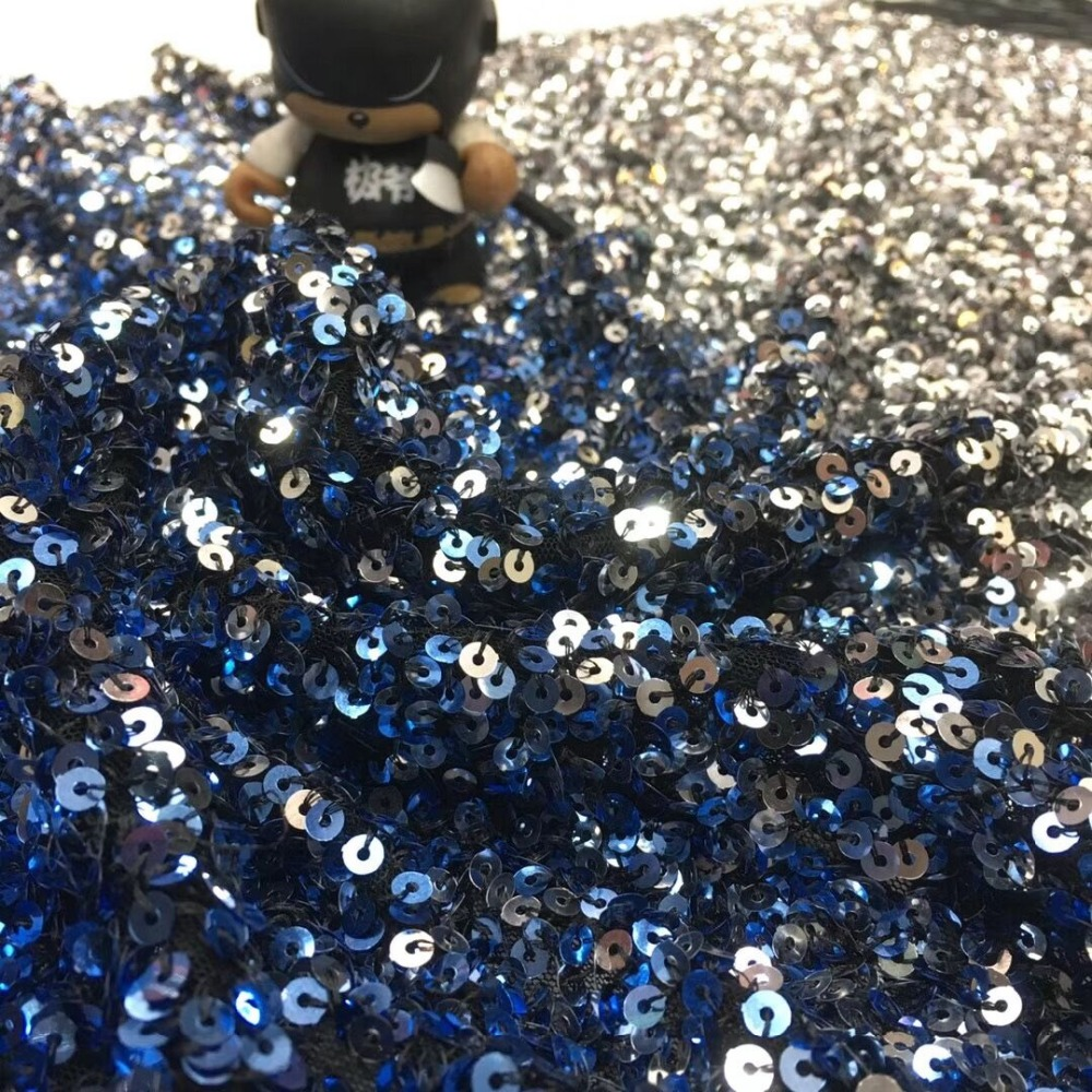 CiCi 3.406 modne cekiny tiul koronka haft francuski koronki tkaniny netto na sukienka na imprezę w Koronka od Dom i ogród na  Grupa 3