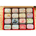 Food Container Macaron Candy Kitchen Accessories Cute Mini Jewelry Box Korean Make Up Box Caixas Storage Mental Box 32pcs/lot