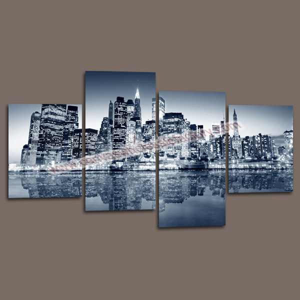 Wall decor canvas painting custom canvas prints of new for New york city decor
