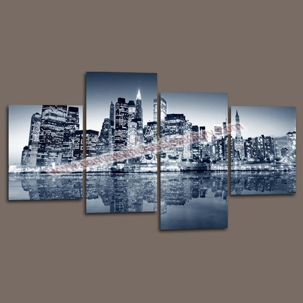 New York City Decor Of Wall Decor Canvas Painting Custom Canvas Prints Of New