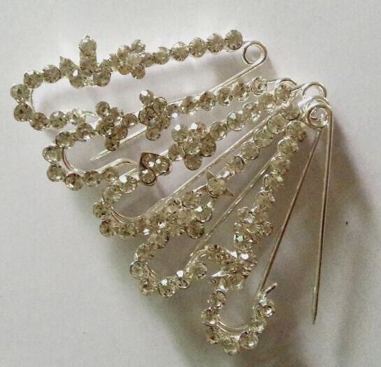 Big jewelry safety pin ON SALE scarf pins hot sell khaleeji hijab pins fix pin mix styles 12 pins per lot free ship