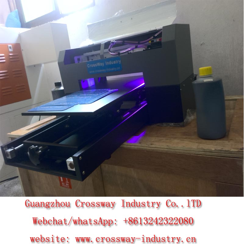 UV glass acrylic plastic printing machine