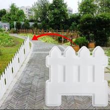 Маленький забор пластиковая форма Бетон цемент сад бассейн пол плитка забор форма для производства брусчатки путь плесень газон двор Ремесло Декор прочный