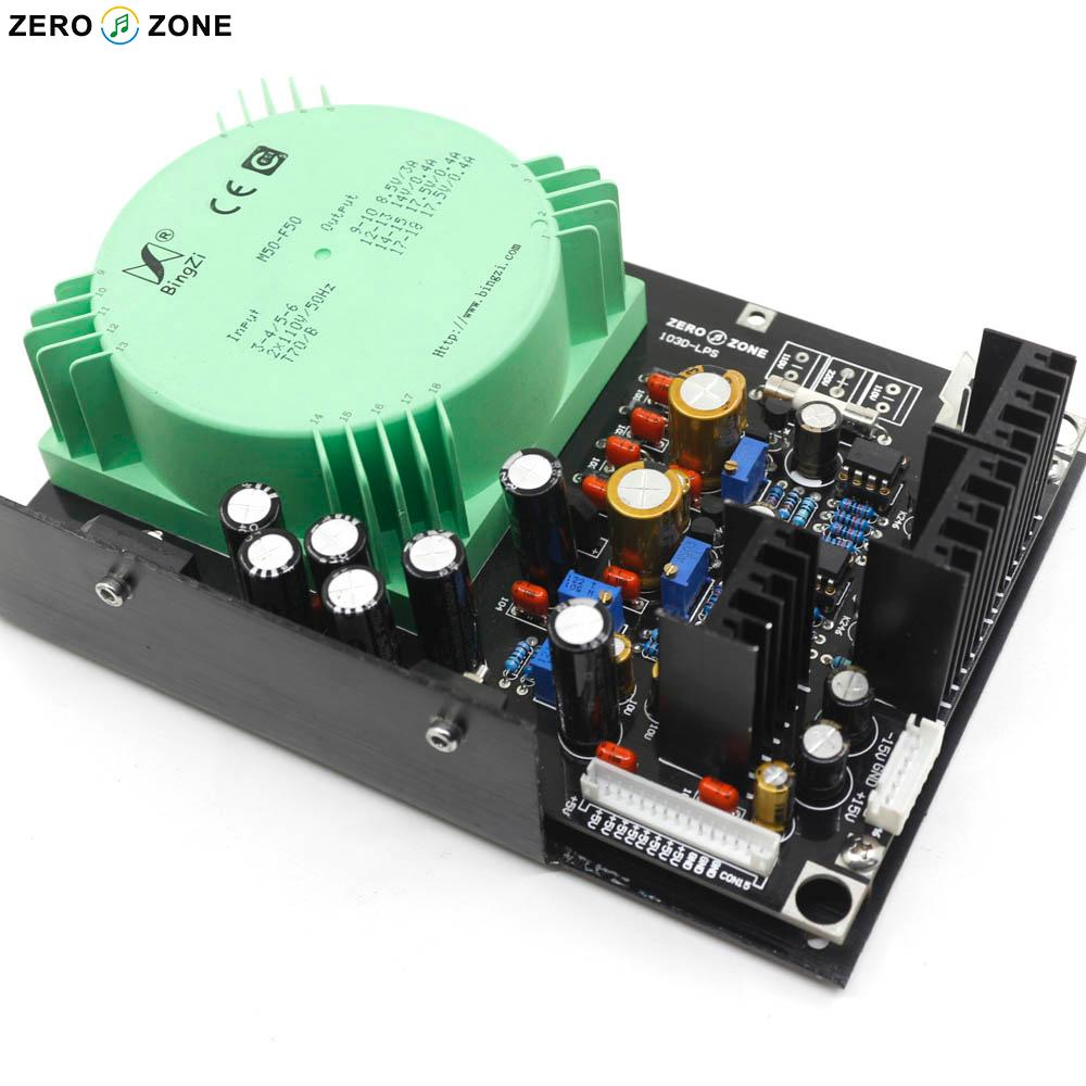 ZEROZONE Linear Power supply board module for OPPO BD player 103/103D/93 PSU Modified/Upgrade