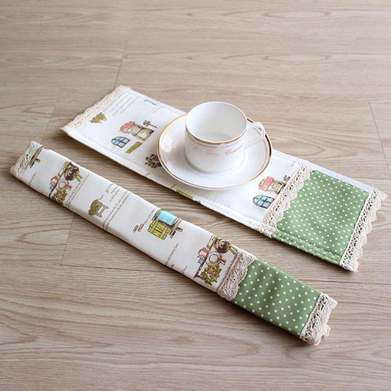 2 Pair Wydrukowano Lodówka Uchwyt Pokrywa Dekoracyjne Duszpasterska - Artykuły gospodarstwa domowego - Zdjęcie 5