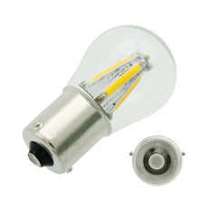 2 шт., Автомобильные светодиодные лампы ANBLUB 4 COB 1156 BAU15S 12 В