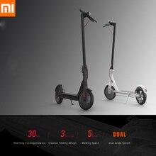 100% оригинал Xiaomi M365 электрический скутер взрослых Longboard скейтборд Ховерборд 2 колеса Сверхлегкий 30 км пробег Смарт скутер