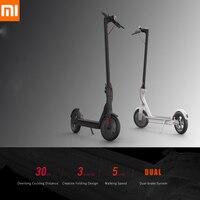 100% Original Xiaomi M365 Electric Scooter Adult Longboard Hoverboard Skateboard 2 Wheel Ultralight 30KM Mileage Smart Scooter