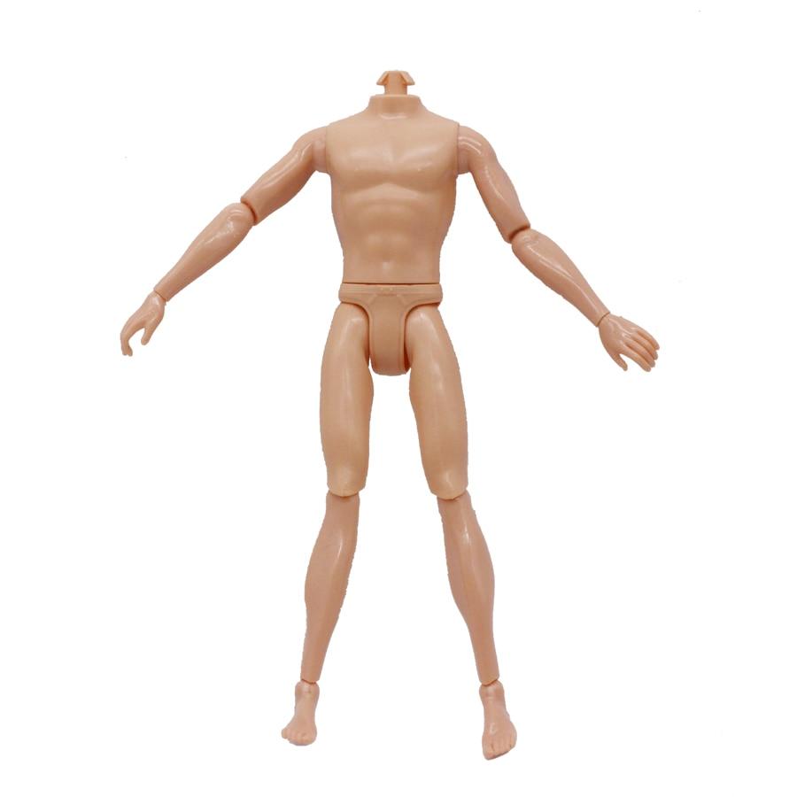 Abbyfrank 30cm 14 Flyttbar Jointed Doll Boy Naken Kropp Naken Dukke - Dukker og tilbehør - Bilde 3