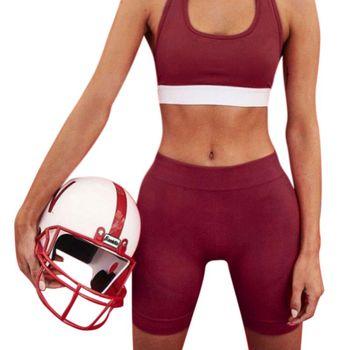 2018 Women Sport Fitness Leggings Half High Waist Quick Dry Skinny Bike Short Leggings Women Elastic Casual Leggings 1