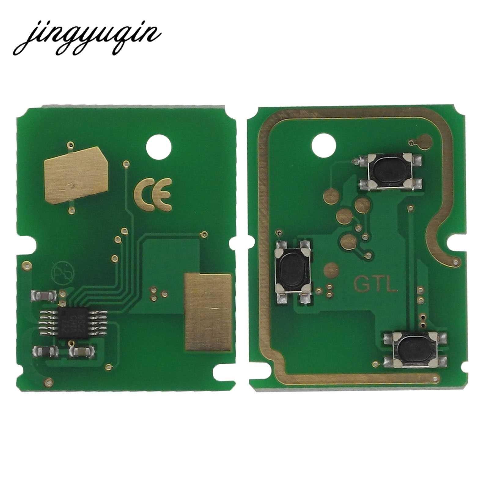 Jingyuqin 3 أزرار مفتاح السيارة عن بعد 315/433Mhz لفورد فوكس فييستا فيوجن C-ماكس مونديو غالاكسي C-ماكس S-Max ID60 4D63 رقاقة