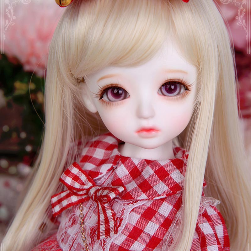 New Arrival 1/6 BJD Doll BJD/SD Honey Delf Cute Doll With Eyes For Baby Girl Christmas Birthday Gift кукла bjd dc doll chateau 6 bjd sd doll zora soom volks