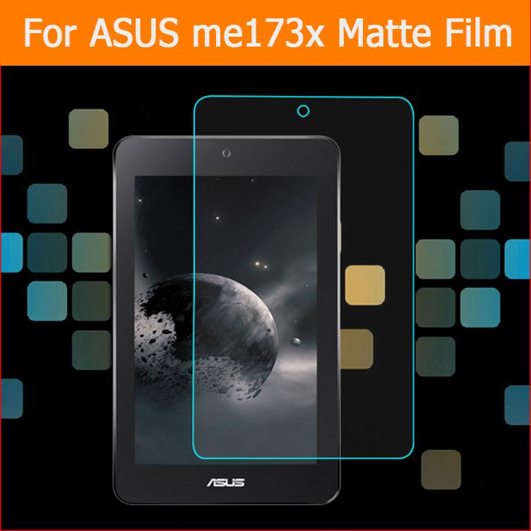 """Best quality anti-glare matte screen protector film For Asus me173x 7.0"""" tablet front Anti-Fingerprint screen protective films"""