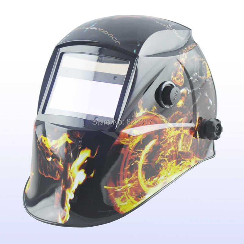 Авто Затемнение/сварочные маски/MIG MAG TIG (Yoga-718G) военная колесница)/4 дуги сенсор