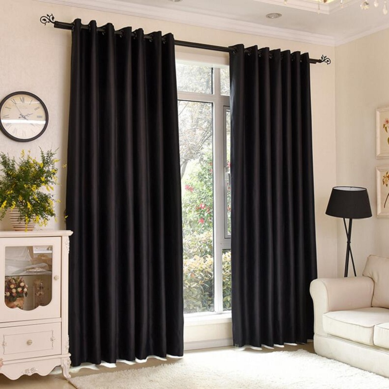 black bedroom curtains buy curtains black from china curtains 10846