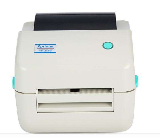 Xp-450b 20 mm ~ 103 mm térmica directa USB Barcode Label Printer térmica impresora de código de barras impresora de código de barras separación peel función