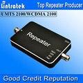2016 NUEVO 3G ALC 2100 MHz 65dbi Repetidor 3G Potenciadores de la Señal 20dBm Amplificador Tamaño Mini LED de Señal Móvil 3G Amplificador de Señal S14
