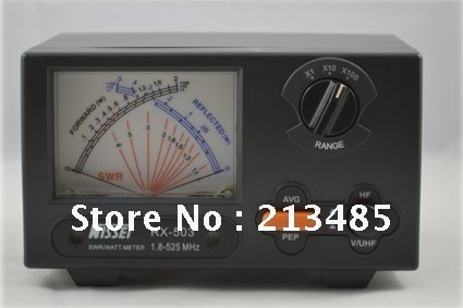 New Original TAIWAN NISSEI RX-503 SWR/Watt Meter 1.8-525MHz 2/20/200W For Two-way Radio