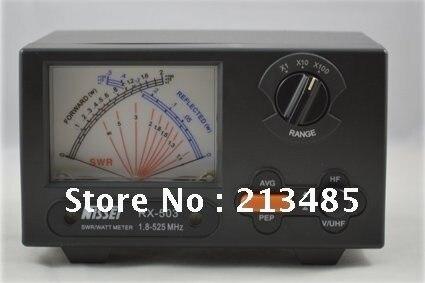 Nieuwe Originele TAIWAN NISSEI RX 503 SWR/Watt Meter 1.8 525 MHz 2/20/200 W voor twee weg Radio