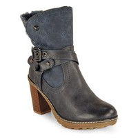 Refresh Women Ankle Boot Trincha Hair Navy