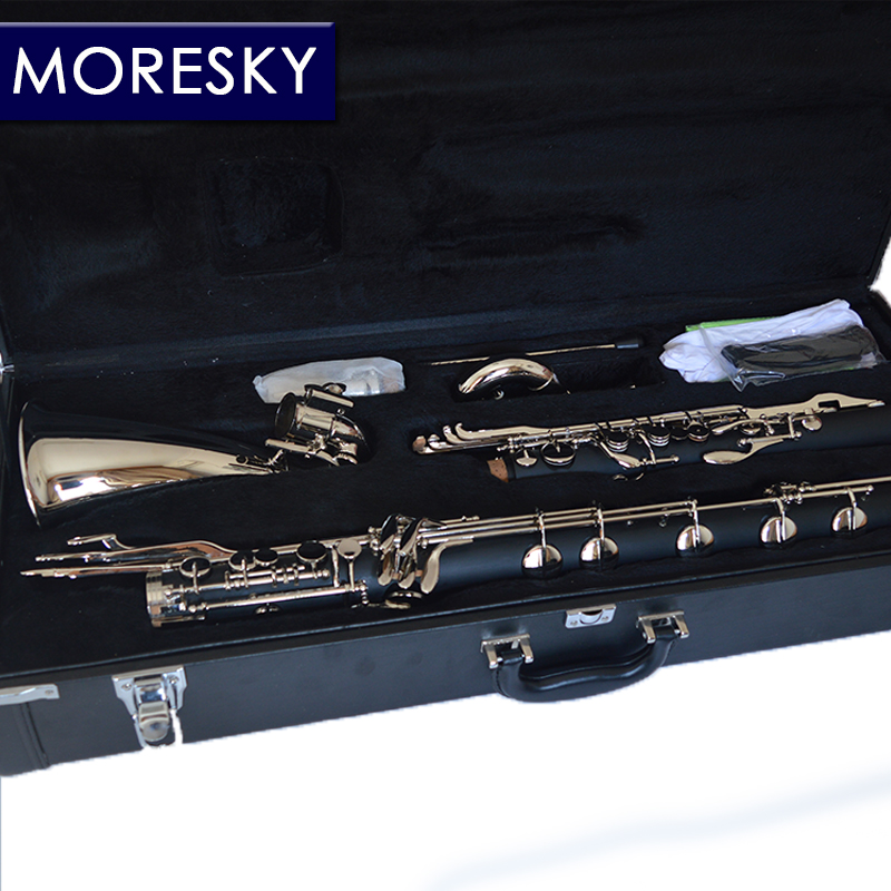 MORESKY clarinette basse clarinette professionnelle Lowc/LOWE air tombant B - 2