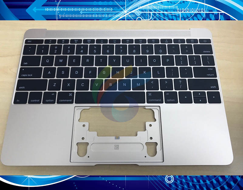 US Topcase For Macbook 12 A1534 Top case with keyboard and keyboard backlight 2016 Gold