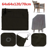 Waterproof Chair Covers Dust Rain Cover For Garden Outdoor Patio Furniture Covers Luggage Protective Covers