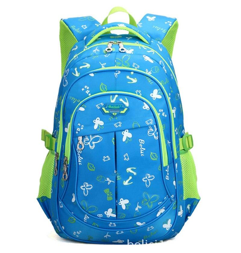 RUIPAI Водонепроницаемый книга пакет детские рюкзаки школьные сумки для подростков дышащая девушки печати посылка милые