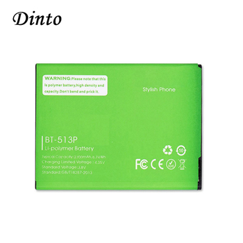 Dinto High Quality 3.8V 2300mAh BT-513P BT513P BT 513P Batteries Replacement Mobile Phone Backup Battery for Leagoo M5 image