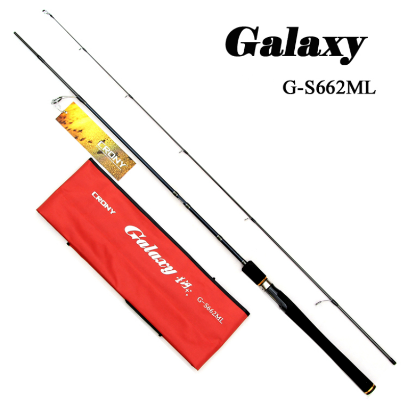 CORNY 1.98m Power ML Spinning Fishing Rod Lure weight 5-15g  Line weight 4-12LB   Ultra-light Fishing rod Soft rod