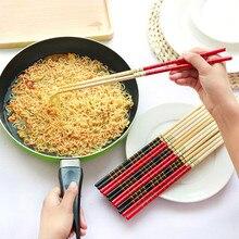 Новинка, 1 пара, супер длинные палочки для еды, Кук, лапша, фритюрница, горячий горшок, традиционный китайский стиль, бамбук, для ресторана, дома и кухни