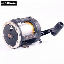 Hi.Whale Abu garcia GT345 fishing wheel 2 shaft boat reel Casting reel jig reel fishing tackle