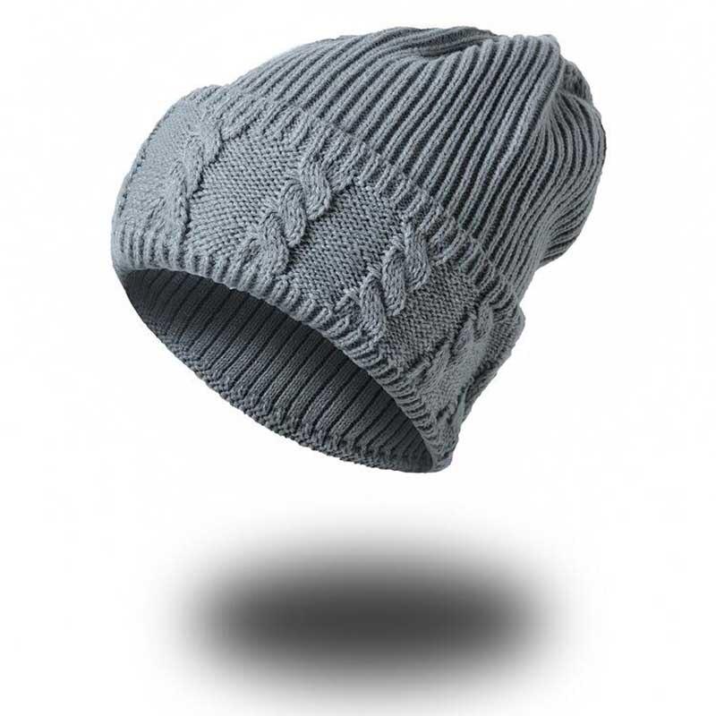 new Winter Hats For Women Bone Touca super Warm Twist Knitted Hat Fashion Beanies Women Winter Cap Lady Wool Acrylic Hat Gorro овальный купить ковры ковер super vision 5412 bone овал 3на 5 метров