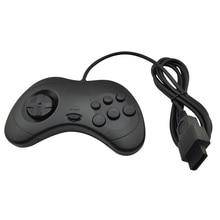 xunbeifang  10pcs Black Game controller for SEGA Saturn