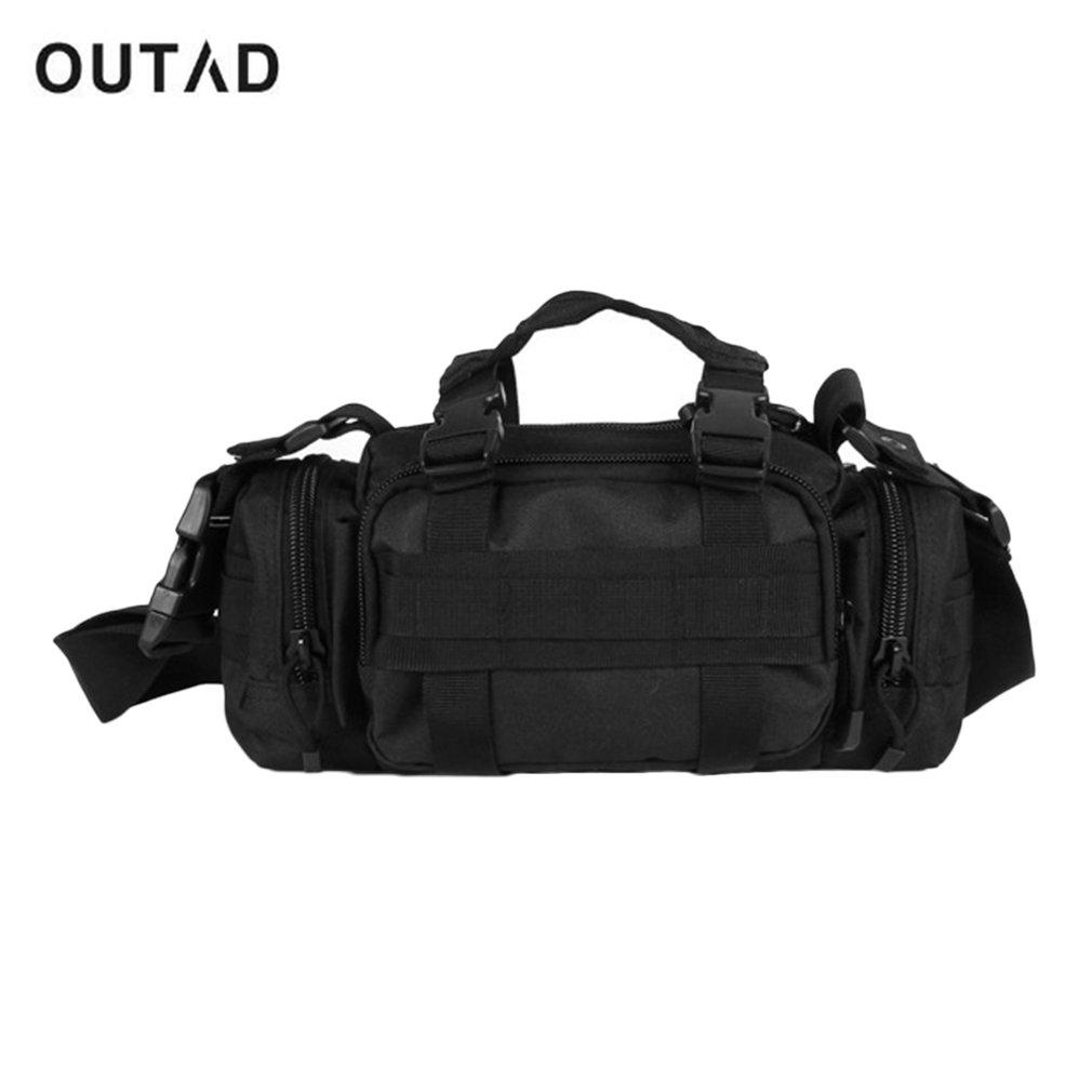 Multifunctional Outdoor Sports Waist Bag Shoulder Bag Crossbody Bag Adjustable Strap Waterproof Cycling Hiking Bag Free Shipping outdoor sports double shoulder bag student bag computer bag waterproof pack free shipping