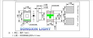 Image 2 - 3000 шт./лот, ультра яркие розовые светодиоды 0805 SMD розовый 2,0*1,2*0,8 мм 3V 20MA SMD 0805 диоды высокой освещенности