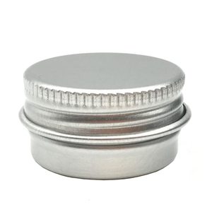 Image 4 - 100PCS 5g 10g 15g 20g 30g 40g 50g 60g Aluminum Tin Jars Metal 50ml Empty Cosmetic Face Care Eye Cream Lip Balm Gloss Packaging