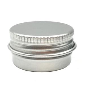 Image 4 - 100PCS 5g 10g 15g 20g 30g 40g 50g 60g Lattina di Alluminio vasi In Metallo 50ml Vuoto Cosmetici Viso Crema Cura Degli Occhi Balsamo per le labbra Gloss Packaging