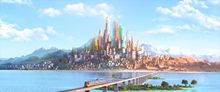Zootopia Anime Movie Fabric poster 55″ x 24″ Decor 08