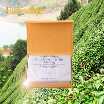 Hurbolism Cure Male Infertility Tea Bag Natural Herbal formula for Increase Sperm Activity, Cure Sperm quantity and quality