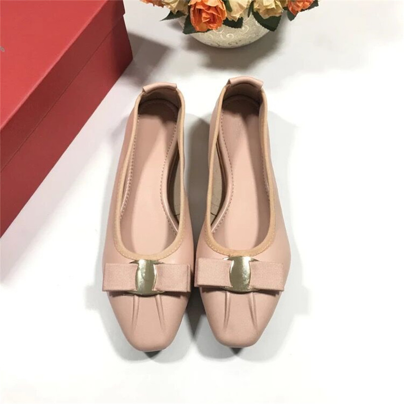 FITOW  Female Slip-On Luxury Soft Sole Boat Loafers Round Toe Ballet Shoes Women Genuine Leather Ballerina Casual FlatsFITOW  Female Slip-On Luxury Soft Sole Boat Loafers Round Toe Ballet Shoes Women Genuine Leather Ballerina Casual Flats