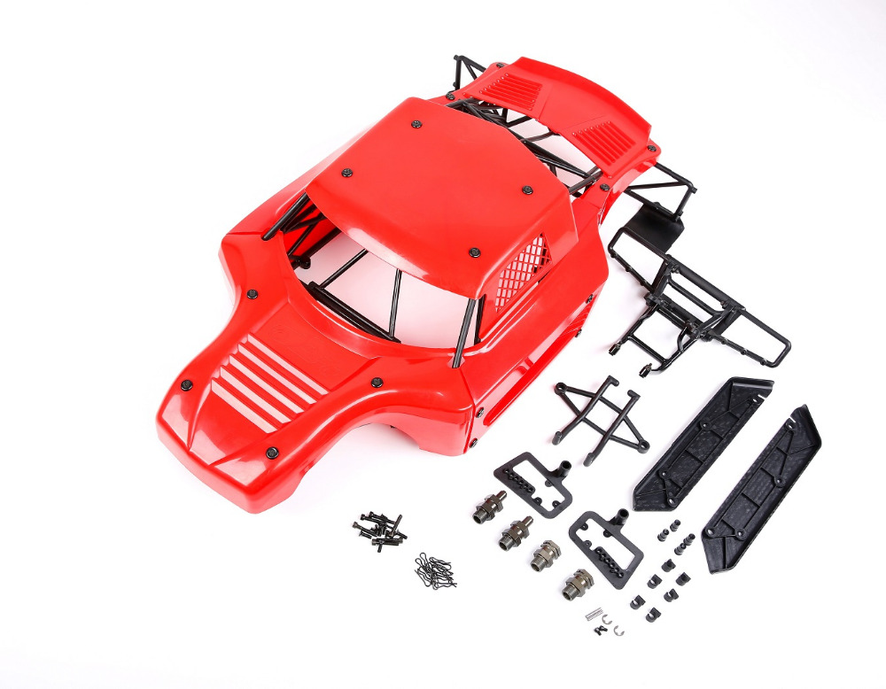 ROVAN LT Body shell conversion 5t 5sc Body shell & roll cage kit for 1/5 hpi rovan km baja 5t 5sc rc car parts 5t 5sc metal roll cage edition green roll cage with body for 1 5 hpi baja 5t 5sc rovan kingmotor car
