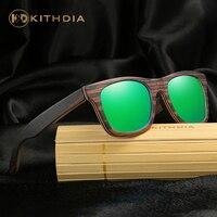 KITHDIA Natural Wooden Sunglasses Men Women Brand Designer Goggles Mirror Sun Glasses Wood Shades lunette oculo