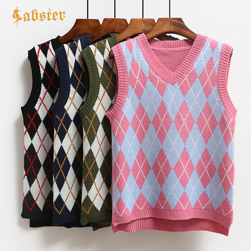 2018 Fashion Casual Tank Tops Pullover Elasticity Sweater Spring Autumn Women Sleeveless V-Neck Knitted Vest Kz373