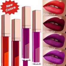 цена на Color 222 private label matte liquid lipstick lip gloss factory wholesale cosmetics makeup private custom logo
