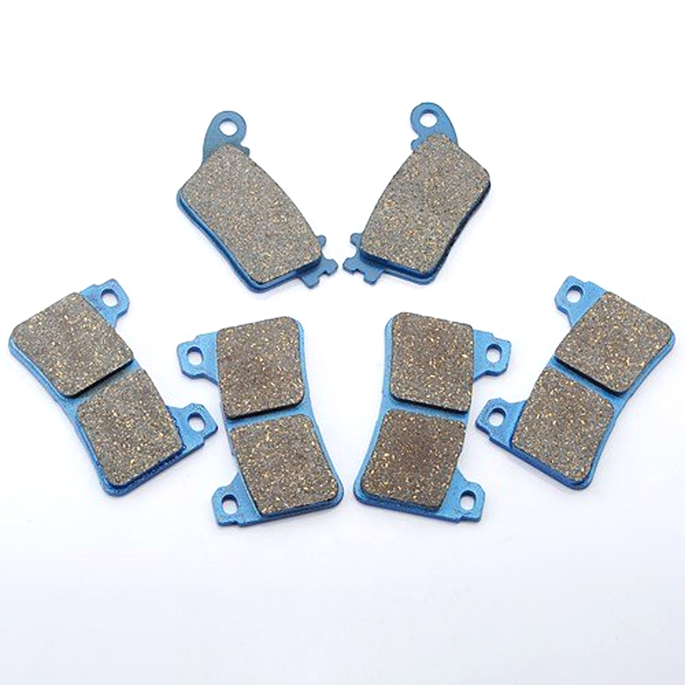Knight 3 Pair /set Front Rear Brake Pads For HONDA CBR1000 CBR600 CBR 600 1000 RR 2006 2007 2008 2009 2010 brake pads set for derbi gpr50 gpr 50 race replica 2008 2009 senda drd pro 50 05 07 gpr80 gpr 80 cup derbi malossi 2008