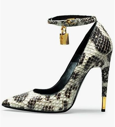 Sexy Python Lock High Heel Pointed Toe Pump Plus Size 10 Ankle Strap Wedding Shoes Bride Stiletto High Heels Women Dress ShoesSexy Python Lock High Heel Pointed Toe Pump Plus Size 10 Ankle Strap Wedding Shoes Bride Stiletto High Heels Women Dress Shoes